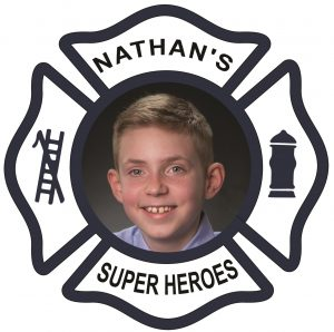 Nathan's Super Heroes Book Series Logo - Super Hero Books