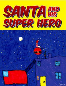 Santa and His Super Hero Cover