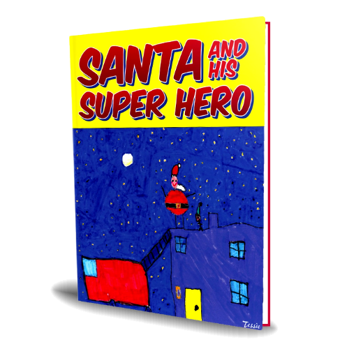 Santa and His Super Hero