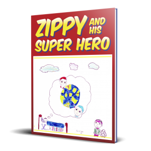 Zippy and His Super Hero Book