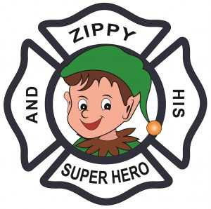 Zippy and His Super Hero logo